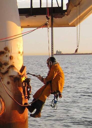 Offshore welders